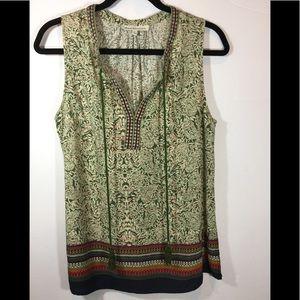 Stitch fix Daniel Rainn Sleeveless blouse size L